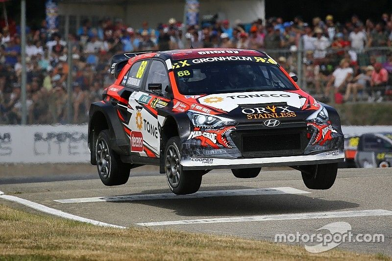 South Africa World RX: Gronholm leads Hansen on Saturday