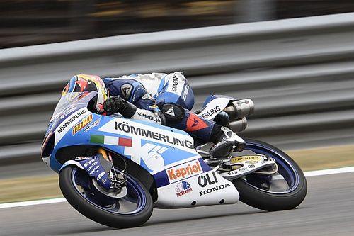 Moto3, Brno, Libere 2: Rodrigo cade ma svetta su Arbolino