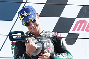 """Quartararo ne """"s'attendait pas"""" à ses poles et podiums"""