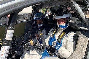 Bottas prueba el Toyota de WRC