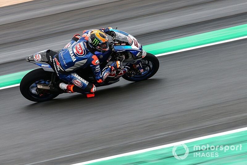 Magny-Cours WSBK: Van der Mark quickest in wet practice