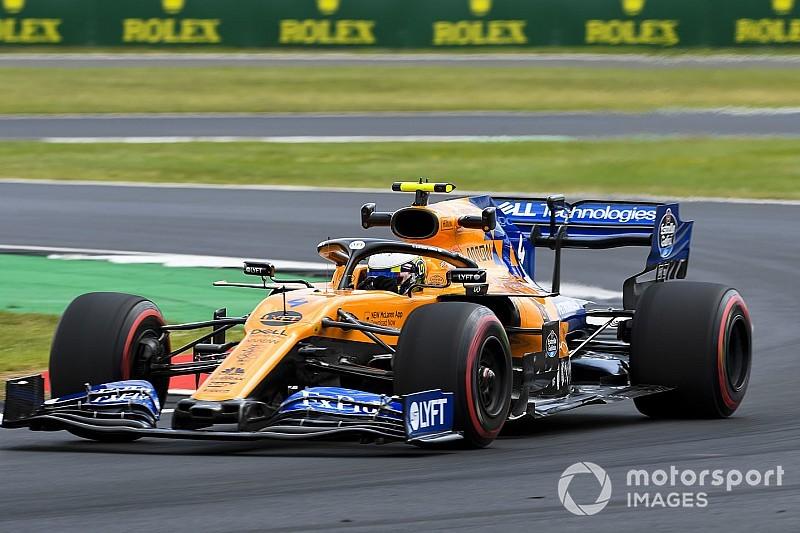 McLaren explica su estrategia bajo Safety Car en Silverstone