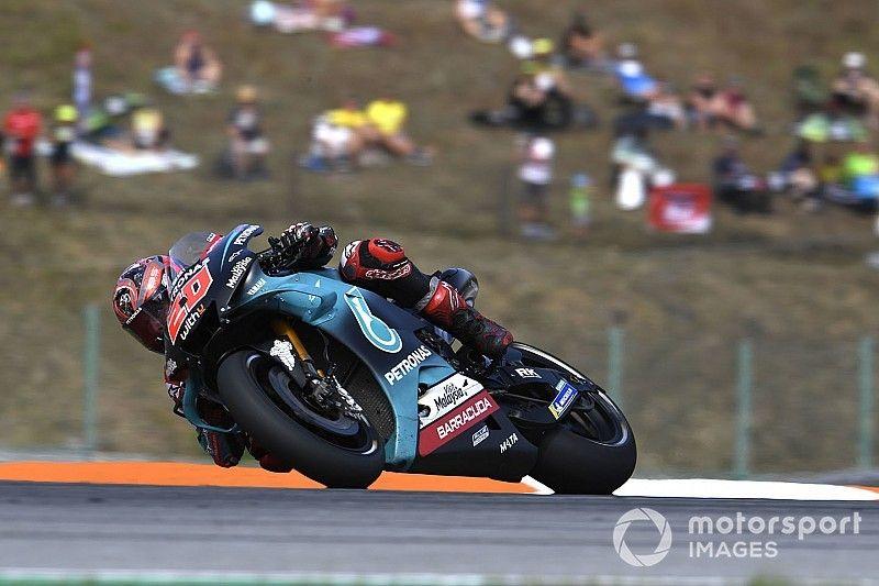 Quartararo leads Yamaha trio in Brno MotoGP test
