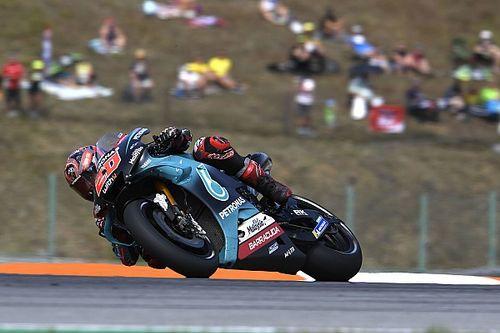 Quartararo lidera trio da Yamaha em teste da MotoGP na República Tcheca