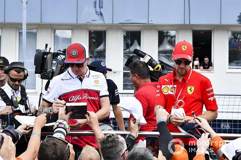 """Raikkonen: Alfa'ya """"yaptığım şeylerden sızlanırsanız"""" """"burada kalmam"""" dedim"""