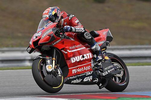 Une Ducati discrète, mais un Dovizioso satisfait après le test de Brno