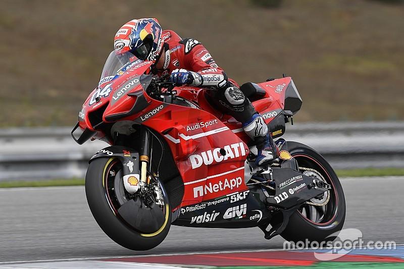 """Dovizioso: """"El nuevo carenado mejora poco la moto porque la base ya era muy buena"""""""