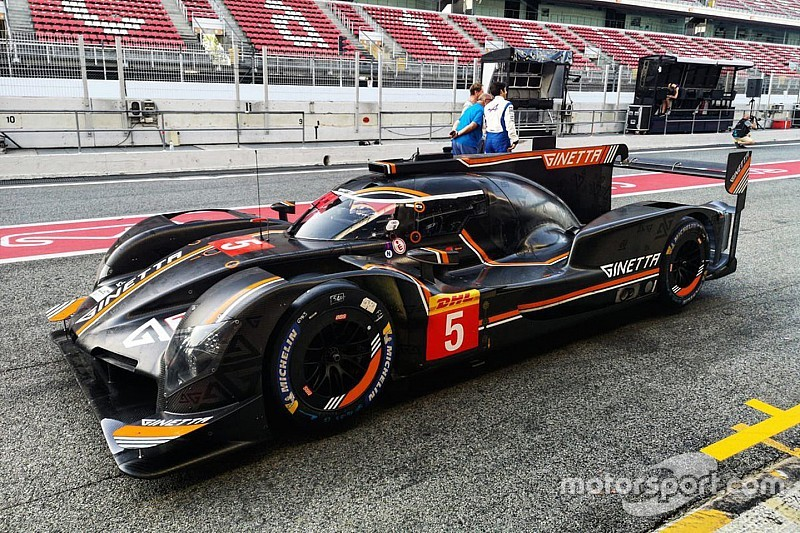 Sarrazin convinced about Ginetta LMP1 car's potential