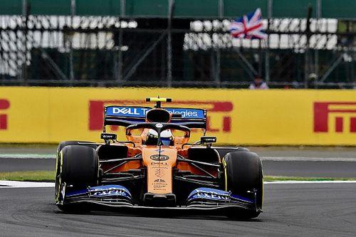 Norris respalda la idea de correr en dirección contraria en Silverstone