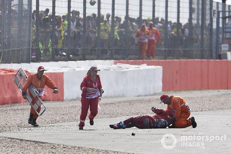 Dovizioso volledig hersteld van zware crash op Silverstone