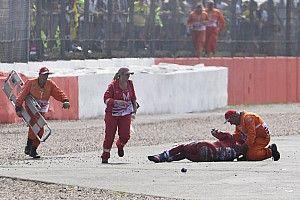 Dovizioso fue hospitalizado tras perder brevemente la memoria