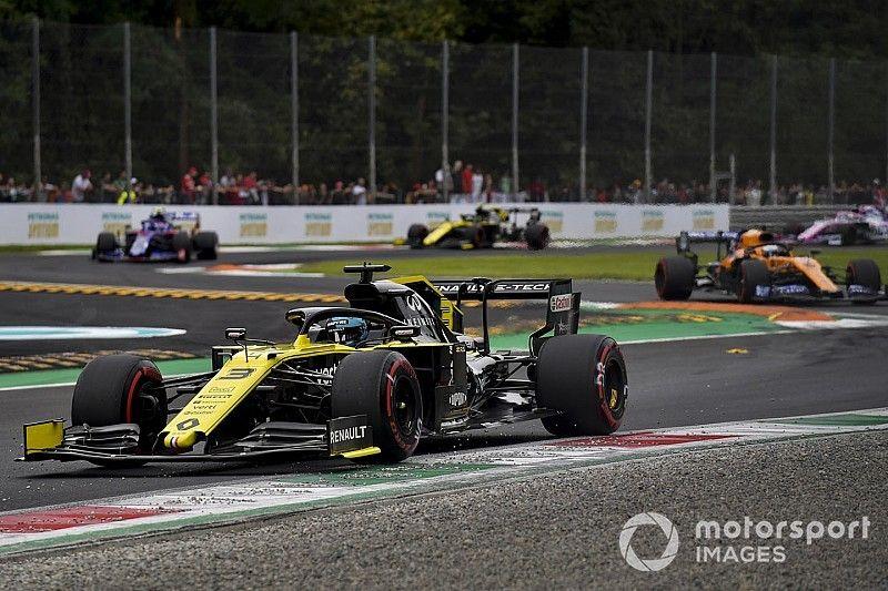 Objectif gros points pour Renault afin de repasser Toro Rosso