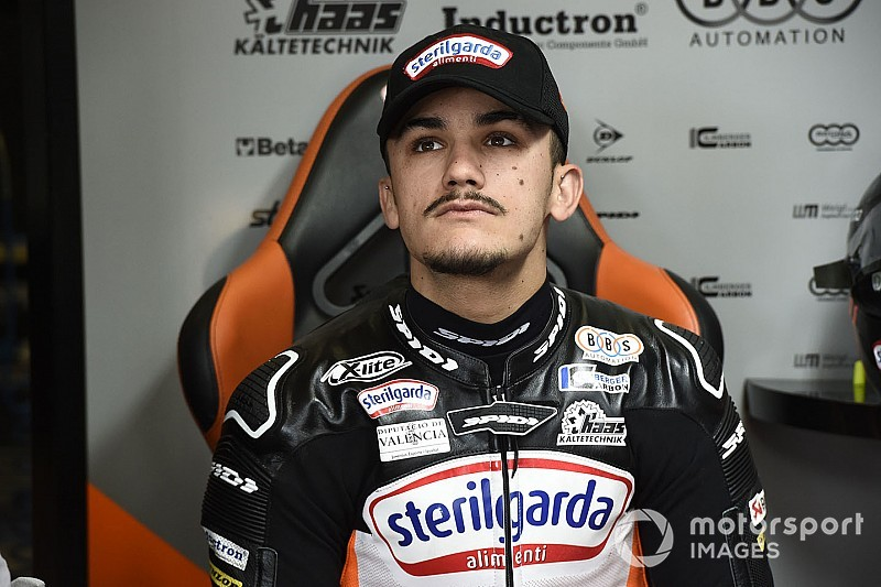 Canet steps up to Moto2 with Angel Nieto in 2020