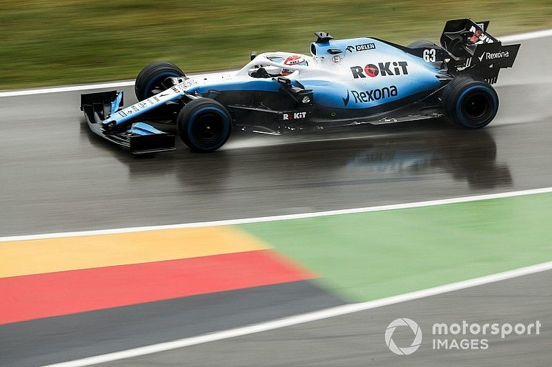 """Russell says Williams """"made wrong choice"""" with tyres"""