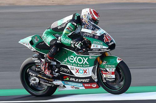 Moto2, Buriram, Libere 1: svetta Nagashima, Marini terzo
