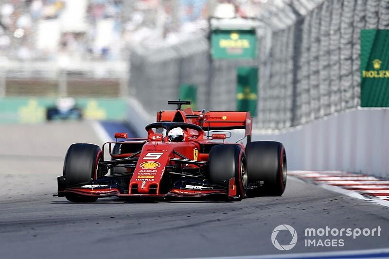 Vettel ve Albon, Katalonya'da piste çıktı