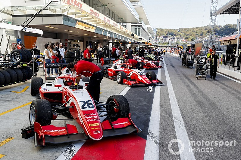 Prema names F3 post-season test line-up