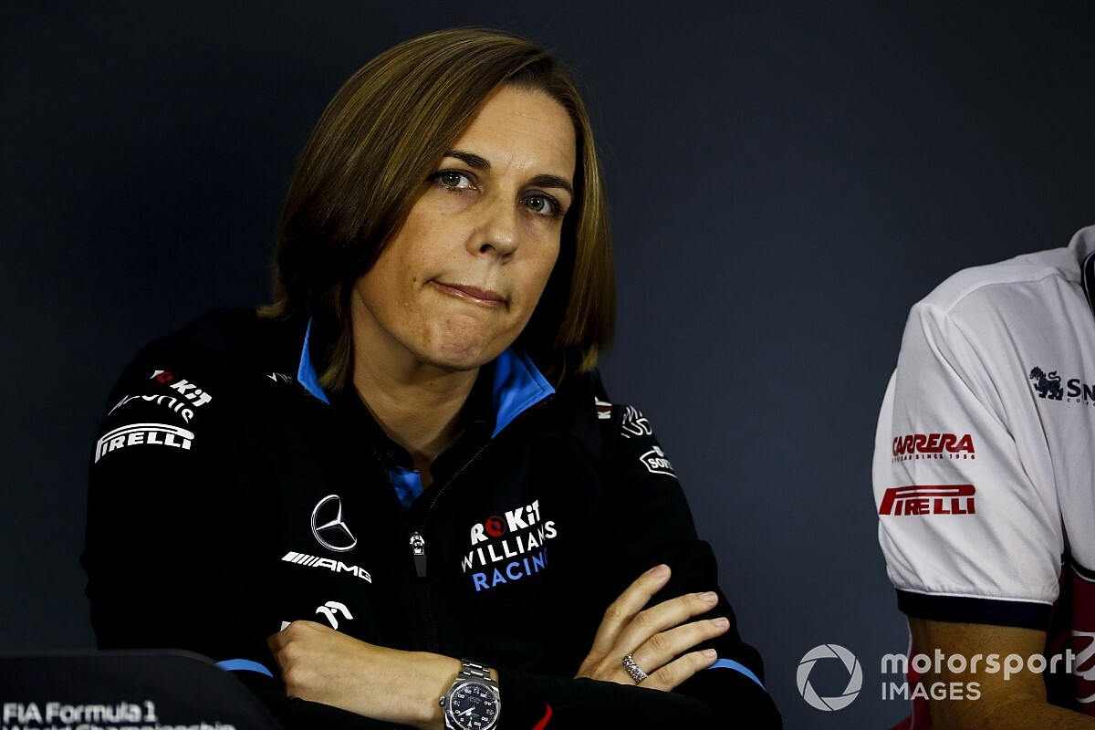 Claire Williams admet que l'argent influence le choix de pilotes 2020