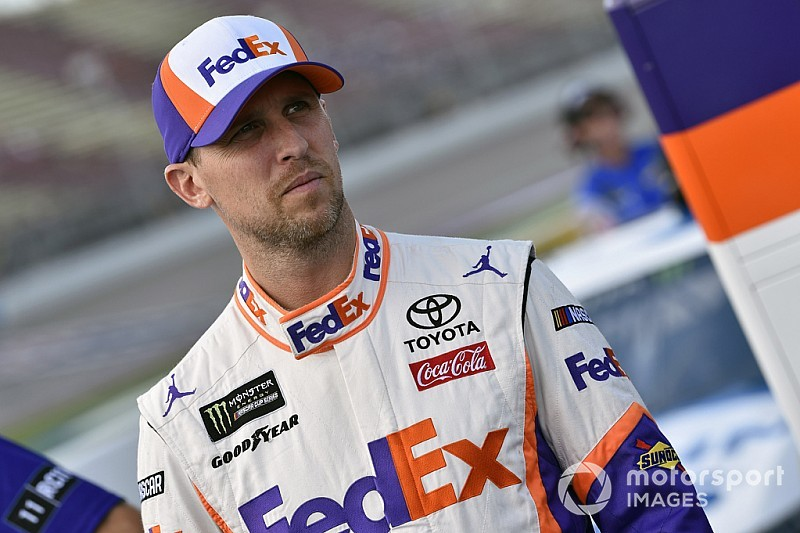 "Denny Hamlin: ""The fastest car won the race"" at Michigan"