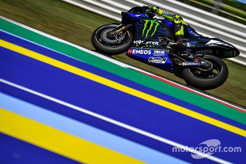 Nouveautés Yamaha : Rossi y voit du bon pour la fin de saison