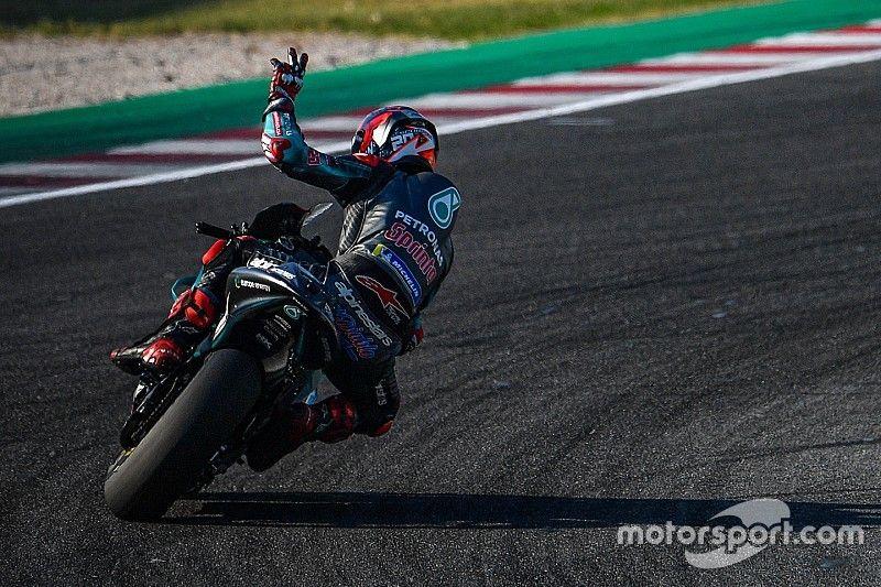 Куартараро показал лучшее время на тестах MotoGP