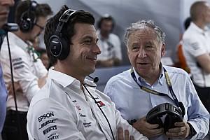 A Mercedes nem akarná a nagy szabályváltozásokat az F1-ben