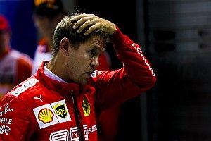 """Vettel faz autocrítica: """"Deveria ter sido melhor na última tentativa"""""""