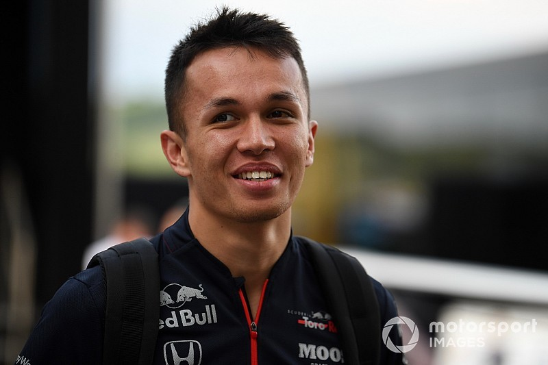 Albon replaces Gasly at Red Bull from Spa
