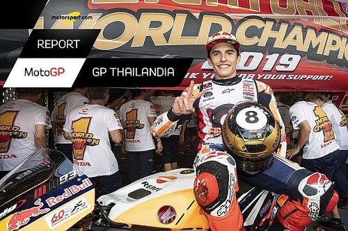 Motorsport Report MotoGP: Marquez imbuca l'ottavo Mondiale