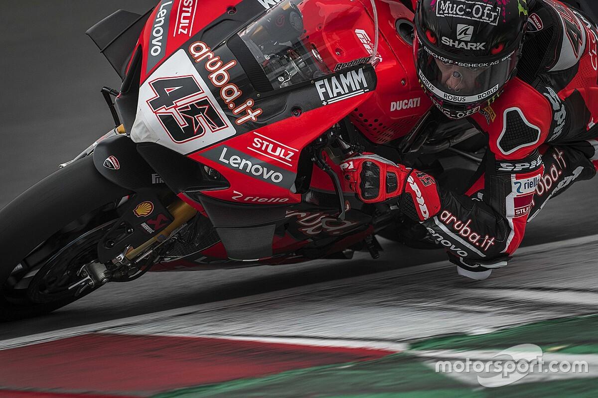 Ducati a Misano prova novità di software, sospensioni e frizione