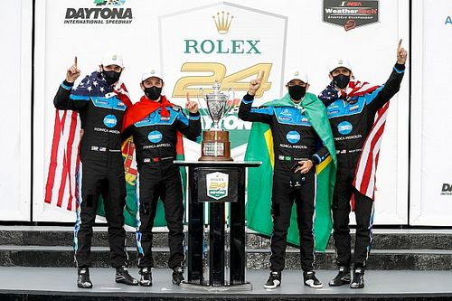 デイトナ24時間:ウェイン・テイラー・レーシング3連覇! 小林可夢偉組は4.7秒差2位