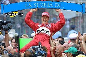 La storia di... Michael Schumacher
