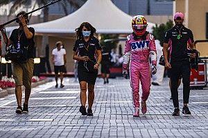 VIDEO: el detrás de cámaras del adiós de Sergio Pérez de Racing Point