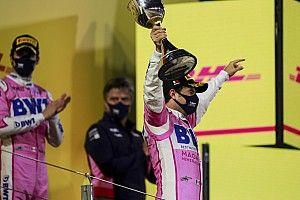 Perez in tranen na eerste F1-zege: Hier heb ik 10 jaar op gewacht