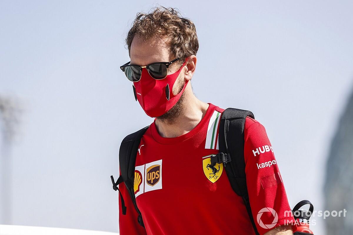 """Vettel, """"araca uymayan"""" Abu Dhabi'de Ferrari'ye iyi şekilde veda etmek istiyor"""