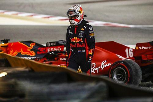 """Verstappen culpa """"imprudente"""" Leclerc por acidente no início do GP de Sakhir"""