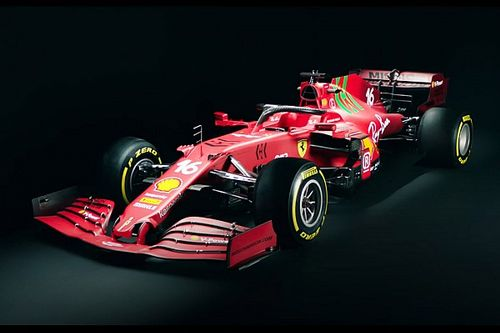 Ferrari SF21 car revealed with green Mission Winnow branding