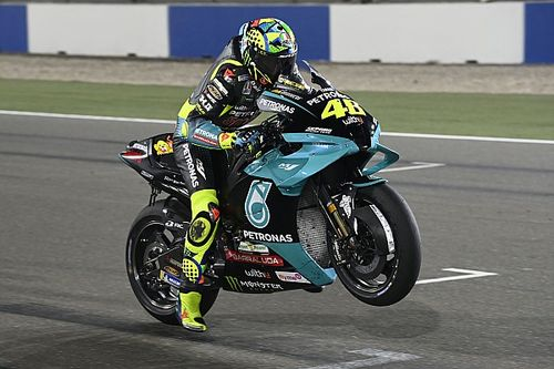 "Rossi ""felt like a real rider"" again in Qatar MotoGP test"