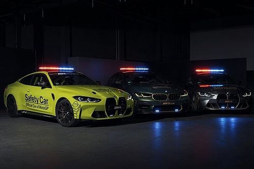 Take a look at 2021 BMW M3, M4 and M5 as MotoGP safety cars