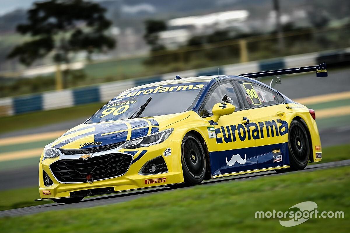 Stock: Ricardo Maurício domina após parada e vence corrida de sábado em Goiânia