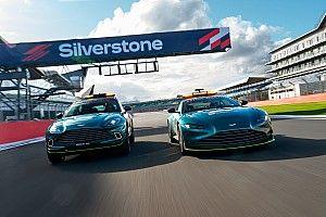 Así lucen el coche de seguridad y médico de Aston Martin para F1