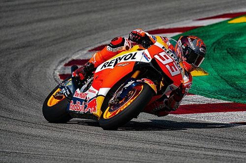 Márquez torna a testare la nuova gerarchia della MotoGP