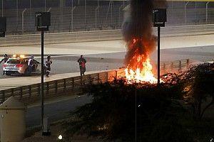 Grosjean, korkunç kazadan kurtuldu!