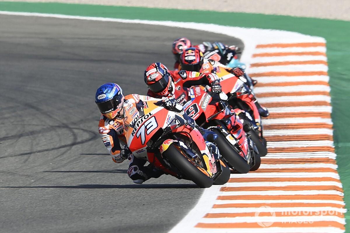 """MotoGP: Álex Márquez revela que punho estava estava """"dormente"""" durante o GP de Valência"""