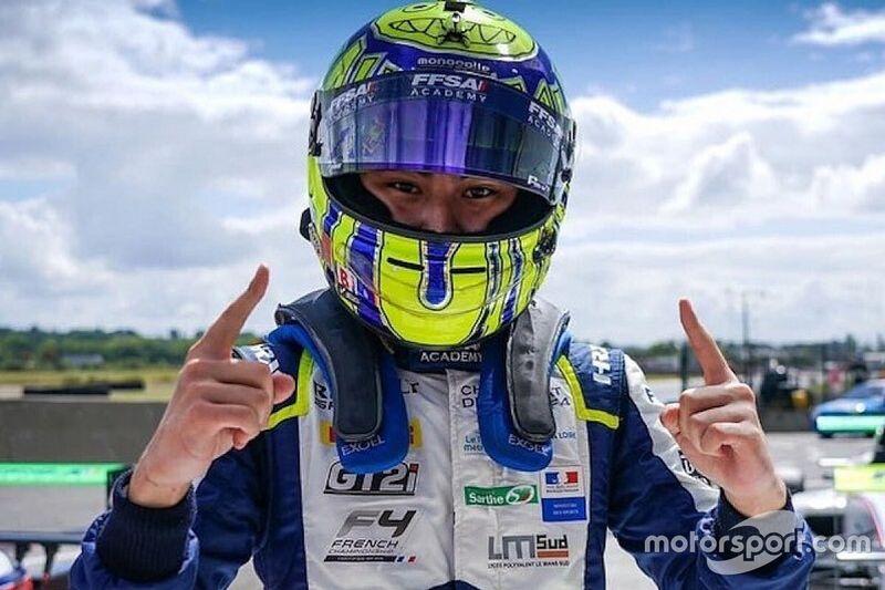 Red Bull recrute le Champion de F4 France