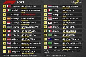 La F1 2021 agrega Imola y aplaza el GP de Australia y el de China