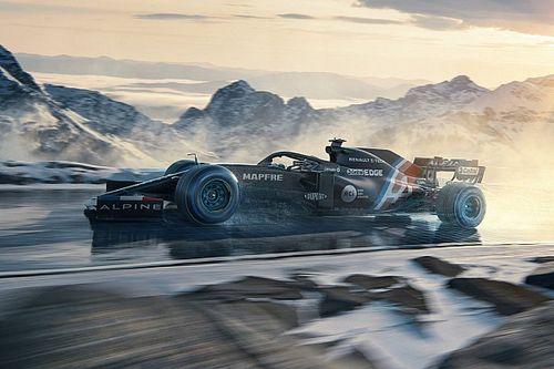 La future Alpine F1 pour la saison 2021 baptisée A521