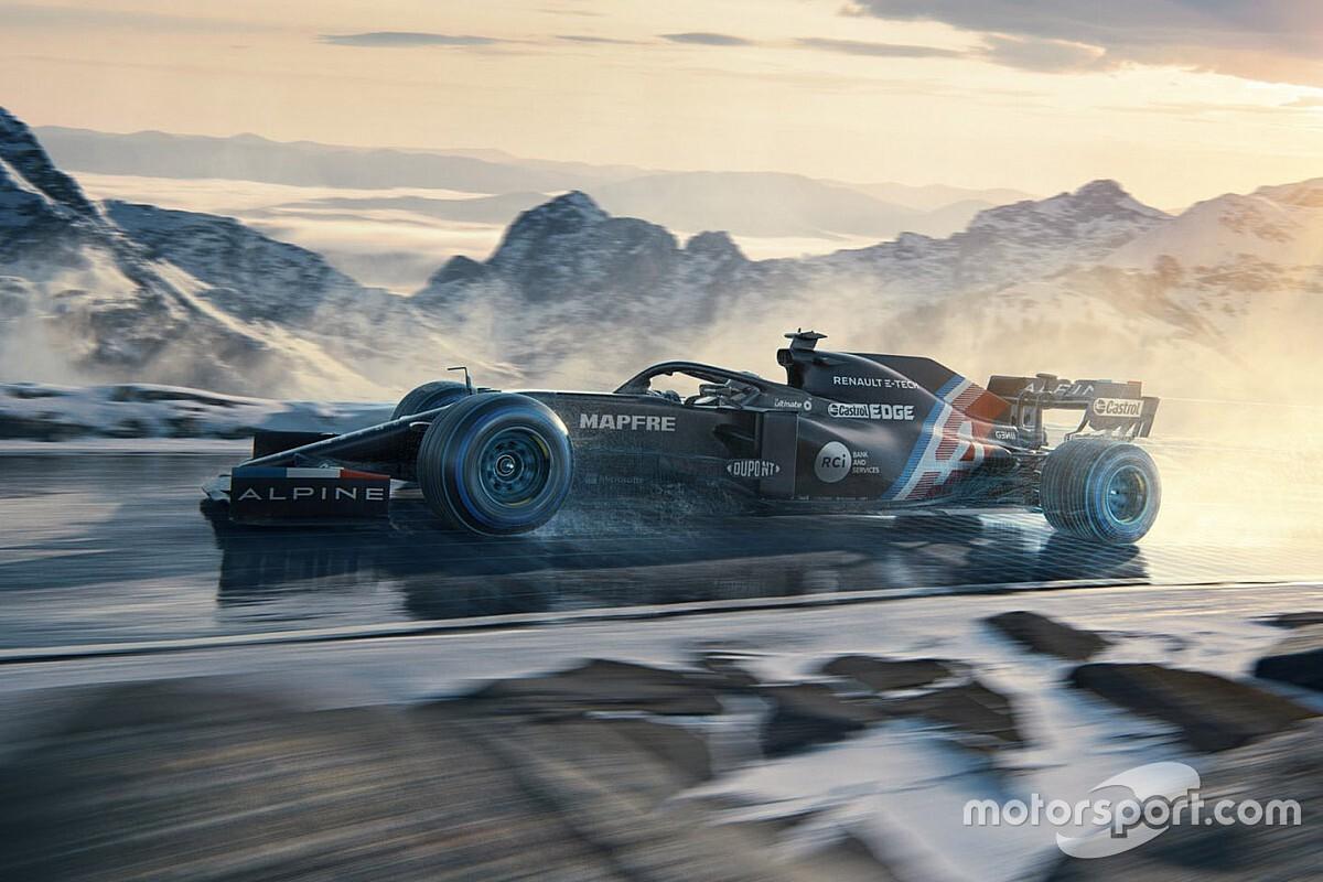 Alpine F1 desvela su decoración provisional para el regreso de Alonso