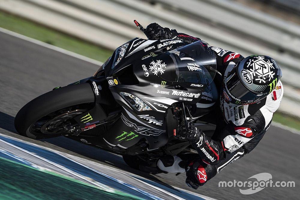 Jonathan Rea en tête des tests de Jerez avec la nouvelle Kawasaki