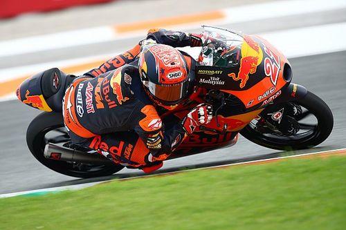Moto3バレンシア予選:鳥羽海渡、2番手フロントロウ獲得! タイトル争う小椋7番手